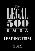 The Legal 500 - Leading Firm 2015